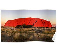 Ayers Rock Sunset Poster