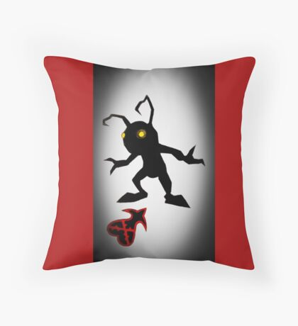 The Heartless Are Everywhere Throw Pillow