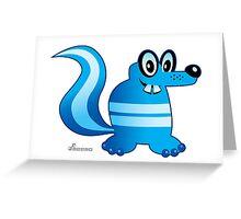 SKUNKster Greeting Card
