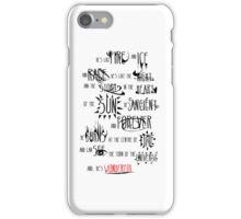 Wonderful iPhone Case/Skin
