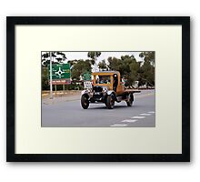 old car 10 Framed Print