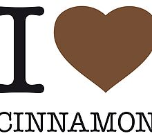 I ♥ CINNAMON by eyesblau