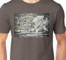 Timber Wolf Onto Something Unisex T-Shirt