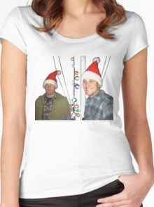 Festive Hats Women's Fitted Scoop T-Shirt