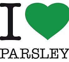 I ♥ PARSLEY by eyesblau