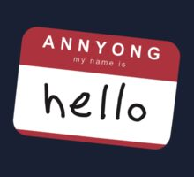Hello! Annyong! by Frank Bluth