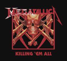 Megatallica - Killing 'Em All Shirt by Oliver Kidsley