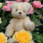 Flower Teddy by AnnDixon