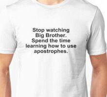 Apostrophes Unisex T-Shirt