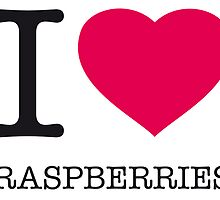 I ♥ RASPBERRIES by eyesblau