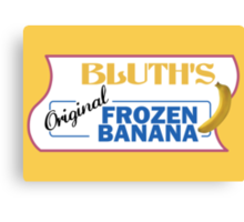 Bluth's Frozen Banana Canvas Print