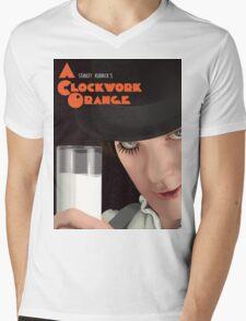 A ClockWork Orange Mens V-Neck T-Shirt