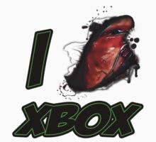 I LOVE XBOX by viperbarratt