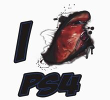I LOVE PS4 by viperbarratt