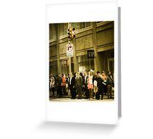 Broadway - Large Greeting Card