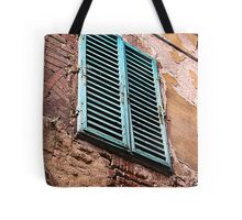 Shuttered window, Siena, Italy Tote Bag