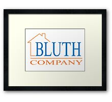 Bluth Company (small logo) Framed Print