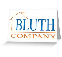 Bluth Company (small logo) Greeting Card