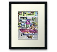 January-Year Round Markets Framed Print