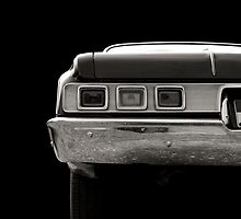 Taillight (black&white) by Beate Gube