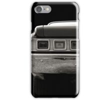 Taillight (black&white) iPhone Case/Skin