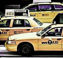 NYC Taxi Cabs by Billyj