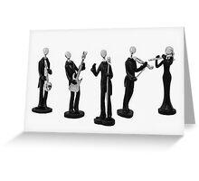 Music Band Greeting Card