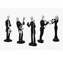 Music Band Photographic Print