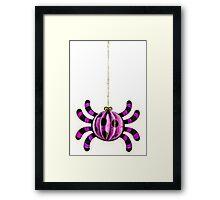 Funny Spider Framed Print