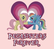Pegasisters Forever Kids Tee