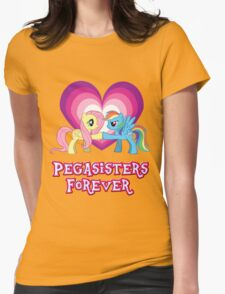 Pegasisters Forever Womens Fitted T-Shirt