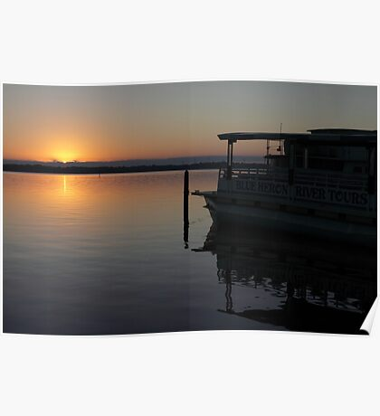 St. Johns River at Dawn Poster