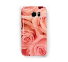 Pink roses - phone skin, iPad cover, and print Samsung Galaxy Case/Skin