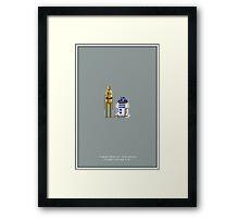 Droids Framed Print