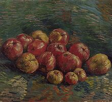 Van Gogh  - Apples, 1887. Famous Paintings. Impressionism. Original by famousartworks