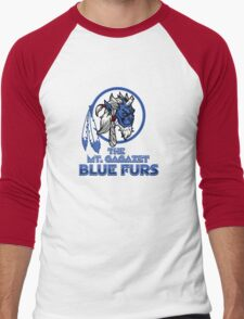 The Bluefurs Men's Baseball ¾ T-Shirt