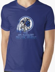 The Bluefurs Mens V-Neck T-Shirt