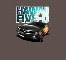 Hawaii Five-O Black Camaro (White Outline) T-Shirt