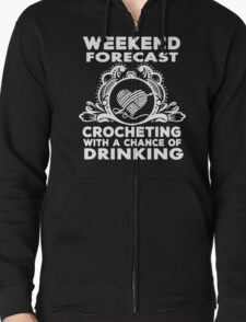 CROCHETING WITH DRINKING T-Shirt
