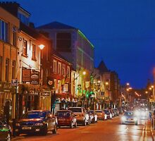Ireland. Town of Killarney. Night. by vadim19