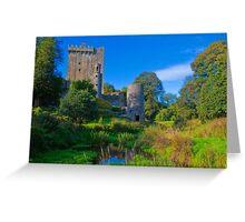 Ireland. Blarney Castle. Greeting Card