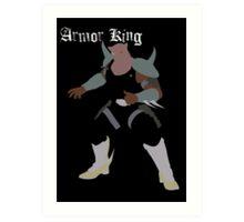 Armor King Art Print