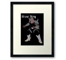 Armor King Framed Print