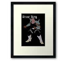 Armor King Framed Print