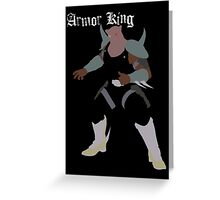 Armor King Greeting Card