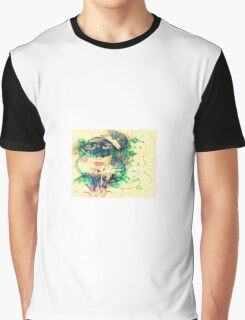 Frosted Snow Angel Graphic T-Shirt