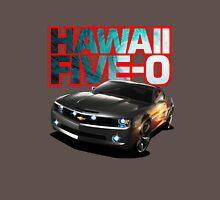 Hawaii Five-O Black Camaro (Red Outline) T-Shirt