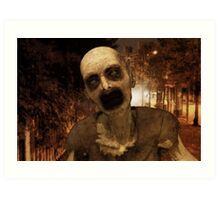 Undead in The City Art Print