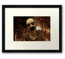 Undead in The City Framed Print
