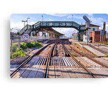 Railway bridge - Newhaven Canvas Print